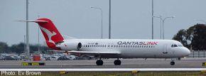 herpa 534567 Fokker 100 QantasLink | Flugzeugmodell 1:500 kaufen