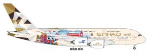 herpa 535007 A380 Eithad Choose the UK | WINGS 1:500 kaufen