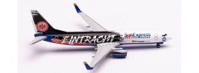 herpa 535236 Boeing 737-800  Sun Express Eintracht Frankfurt Flugzeugmodell 1:500 kaufen