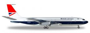 herpa WINGS 558464 Boeing 707-400 British Airways Flugzeugmodell 1:200 kaufen