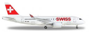 herpa 558471-001Airbus A220-100 Swiss International Air Lines Canton de Geneve Flugzeugmodell 1:200 kaufen
