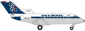 herpa 558921 Olympic Airways Yakovlev Yak-40   WINGS 1:200 kaufen