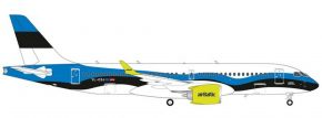 herpa 570657 airBaltic Airbus A220-300 - YL-CSJ Estonia | Flugzeugmodell 1:200 kaufen
