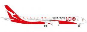 herpa 570756 Qantas Boeing 787-9 Dreamliner 100th Anniversary | WINGS 1:200 kaufen