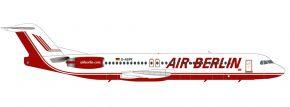 herpa 571203 Fokker 100 Air Berlin Flugzeugmodell 1:200 kaufen