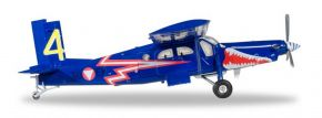 herpa WINGS 580274 Pilatus PC-6 Turbo POoter Austrian Air Force Blaue Elise Flugzeugmodell 1:72 kaufen