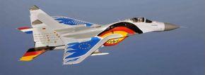 herpa 580557 Luftwaffe Mikoyan MiG-29A Fulcrum Jagdgeschwader 73 | Flugzeugmodell 1:72 kaufen