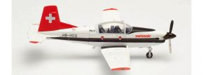 herpa 580656 Pilatus PC-7 Turbo Trainer Swissair  Flugzeugmodell 1:72 kaufen