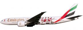 herpa 611060 B777-200LR Emirates-Arsenal Snap-Fit | WINGS 1:250 kaufen