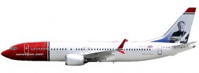 herpa 611817 Norwegian Air Shuttle Boeing 737 MAX 8 | Snap-Fit WINGS 1:200 kaufen