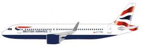 herpa 612746 British Airways Airbus A320 neo | Snap-Fit | Flugzeugmodell 1:200 kaufen