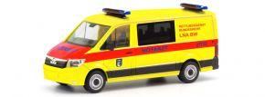 herpa 700757 MAN TGE Flachdach Rettungsdienst  Bundeswehr Leitender Notarzt Berlin Militärmodell 1:8 kaufen