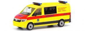 herpa 700764 MAN TGE Flachdach  Rettungsdienst Bundeswehr Berlin NEF 1705-1 Militärmodell 1:87 kaufen
