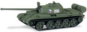 """herpa 745123 Kampfpanzer T-55 """"Tschechoslowakische Armee"""" MiniTanks 1:87 kaufen"""