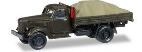 herpa 745390 ZIL 150 PritschenLKW mit Ladegut unter Plane Sowjetisches Militär Militärmodell 1:87 kaufen