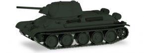 herpa 745567 Kampfpanzer T34-76 undekoriert Militärmodell 1:87 kaufen