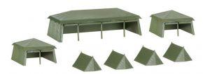 herpa Military 745826 Zelte verschieden 7 Stück Bausatz 1:87 kaufen