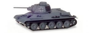 herpa Military 746045 Kampfpanzer T-34/76 mit deutscher Kommandantenkuppel Panzermodell 1:87 kaufen