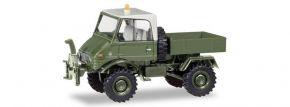 herpa 746496 Unimog U421 Pritsche Standortverwaltung der Bundeswehr Militärmodell 1:87 kaufen