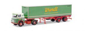 herpa 87MBS026000 Scania Vabis LB 76 Containersattelzug Spedition Wandt LKW-Modell 1:87 kaufen