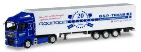 herpa 923002 MAN TGX XLX KühlkofferSzg G und P Trans LKW-Modell 1:87 kaufen