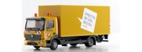 herpa 929141 Mercedes-Benz Atego Koffer-LKW mit Hebebühne Leonhard Weiss LKW-Modell 1:87 kaufen