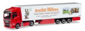 herpa 930192 MAN TGX XXL Kühlkoffersattelzug Brocker Möhren LKW-Modell 1:87 kaufen