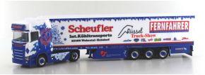 herpa 936781 Scania CS20 HD Kühlkoffersattelzug Scheufler FERNFAHRER LKW-Modell 1:87 kaufen