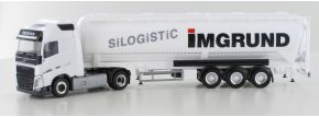 herpa 938181 Volvo FH GL Silosattelzug IMGRUND Silogistic LKW-Modell 1:87 kaufen