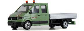 herpa 938600 VW Crafter Doppekabine mit Pritsche Geiger Automodell 1:87 kaufen