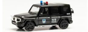 herpa 940474  Mercedes-Benz G-Klasse Police SWAT China Special Forces Blaulichtmodell 1:87 kaufen