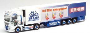 herpa 940863 MAN TGX XXL Kühlkoffersattelzug Trio Trans Fernfahrer LKW-Modell 1:87 kaufen