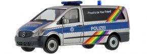 herpa 941792 Mercedes-Benz Vito Bus Polizei Bremen Blaulichtmodell  1:87 kaufen