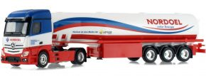 herpa 942096 Mercedes-Benz Actros Streamspace Benzintanksattelzug Lother Nordöl LKW-Modell 1:87 kaufen