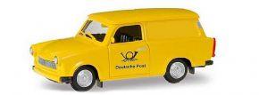 herpa 942799  Trabant 601 Universal Post gelb Automodell 1:87 kaufen