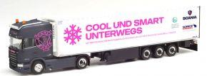 herpa 942881 Scania R 2013 TL Kühlkoffersattelzug Christina Scheib TruckerBabe LKW-Modell 1:87 kaufen
