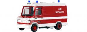 herpa 943444 Mercedes-Benz T2 Notarzt Feuerwehr Bremen Blaulichtmodell 1:87 kaufen