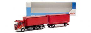 herpa 944830 Scania CG17 Planenhängerzug Feuerwehr Dortmund Fahrschule LKW-Modell 1:87 kaufen