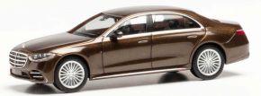 herpa 945622 Mercedes-Benz S-Klasse W223 goldmarmoriert Sommerfest digital 2021 Automodell 1:87 kaufen