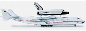 herpa 518895 Antonov AN-225 & Buran Orbiter Shuttle Flugzeugmodell 1:500 kaufen