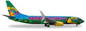 herpa 528191 Boeing 737-800 TUIfly Haribo Tropifrutti Flugzeugmodelll 1:500 kaufen