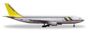 herpa 528351 Airbus A300-600 Sudan Airways Flugzeugmodell 1:500 kaufen