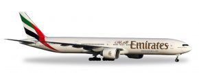 herpa 557467 Boeing 777-300ER Emirates Flugzeugmodell 1:200 kaufen