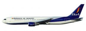 herpa 610834 Boeing 767-300 BoA Boliviana de Aviacion Flugzeugmodell 1:200 kaufen