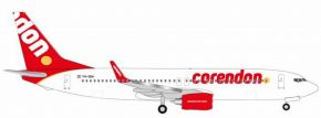 herpa WINGS 531399 Boeing B737-800 Corendon Dutch Airlines Flugzeugmodell 1:500 kaufen
