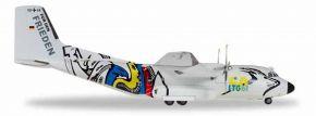 herpa 559201Transall  C-160 Luftwaffe LTG 61 50 Jahre Flugzeugmodell 1:200 kaufen
