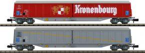 HOBBYTRAIN H23470 2-tlg. Set Schiebewandwagen Habis Kronenbourg SNCF   Spur N kaufen