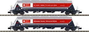 HOBBYTRAIN H23475 2-tlg. Set Silowagen Schweizer Zucker SBB Cargo   Spur N kaufen