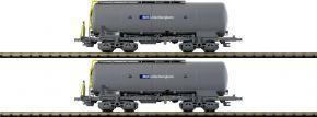 HOBBYTRAIN H23489 2-tlg. Set Silowagen Uacs BLS   Spur N kaufen