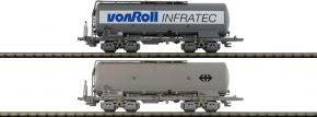 HOBBYTRAIN H23490 2-tlg. Set Silowagen Uacs Von Roll Infratec SBB   Spur N kaufen